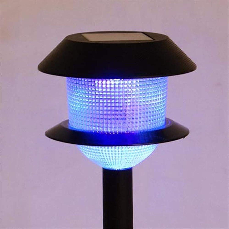 Pyty123 Solarenergie Fügte Geführte Energiesparende Lampe des Rasenlichtes Bunte Reinkarnationsfarbe Im Freien Hinzu