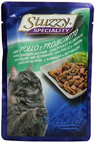 Stuzzy kattenvoer kip ons ham 100 g, verpakking van 24 (24 x 100 g)
