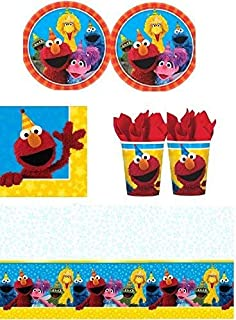 Sesame Street - Party Pack for 16 Guests (B074JJY5VH) | Amazon price tracker / tracking, Amazon price history charts, Amazon price watches, Amazon price drop alerts