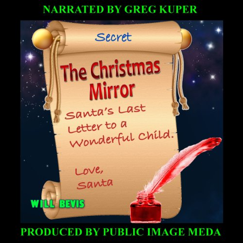 The Christmas Mirror audiobook cover art