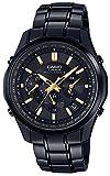 [カシオ] 腕時計 リニエージ 電波ソーラー LIW-M610DBS-1AJF ブラック
