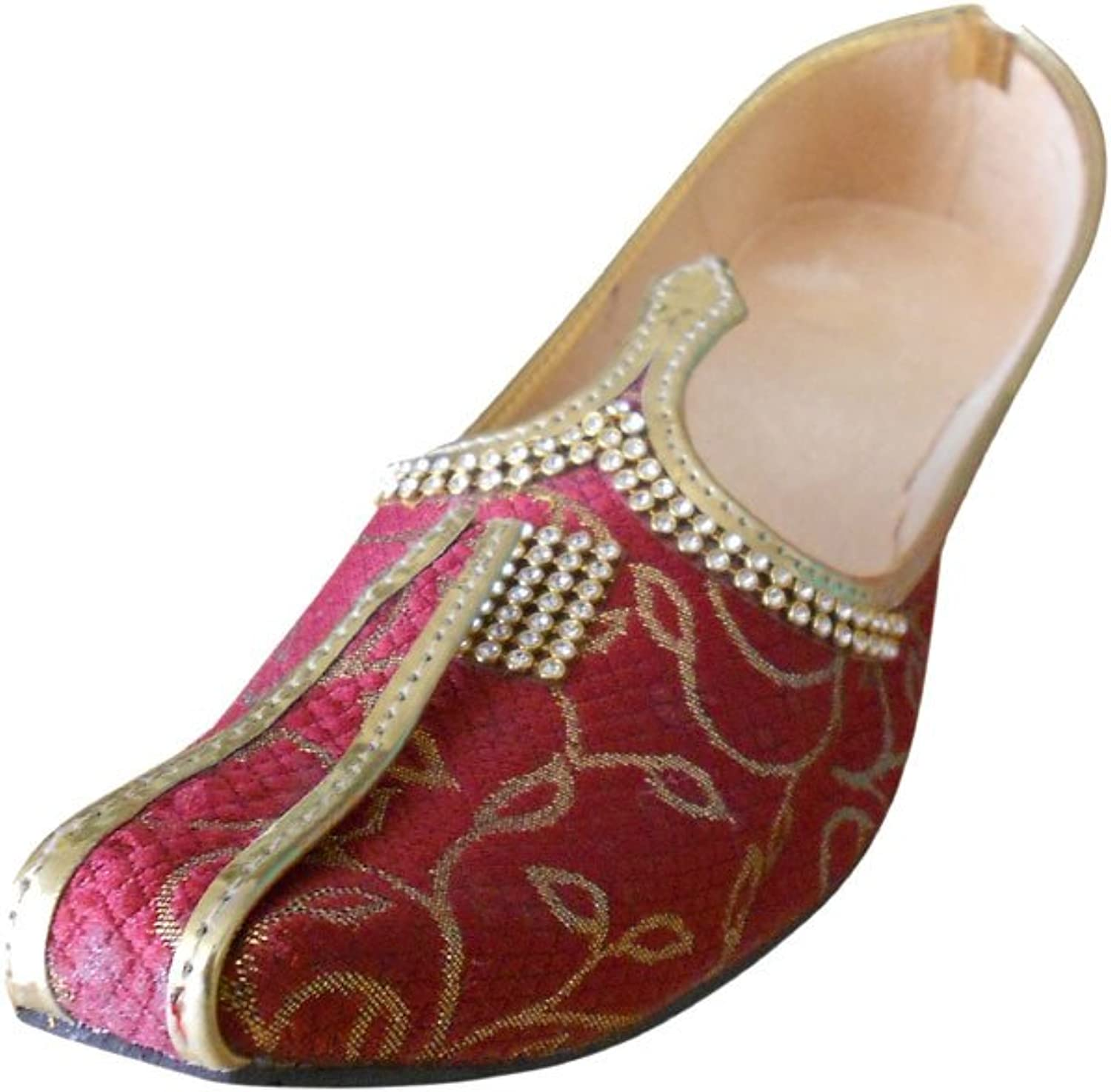 Kalra Creations Men's Traditional Indian Jutti Party shoes