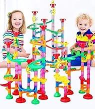 50PCS 29-105pcs/set Educational Track Toy DIY Construction Gravitrax Marble Race Run Track Building Blocks Kids Maze Ball Roll Toys