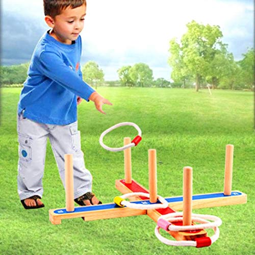 Buy Bargain Lunir Children Portable Throwing Ferrule Toy Interactive Game Indoors Outdoors Games Dar...