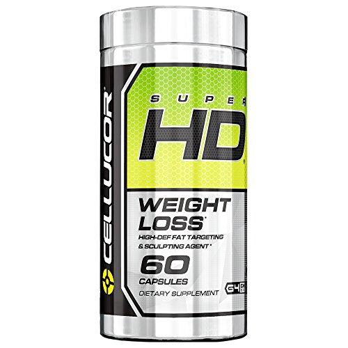 Cellucor SuperHD Thermogenic Fat Burner, Fat Burners For Men & Women,...