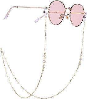 Women Beaded Brown for Daily Wear,Eyeglass Glasses Strap Sunglasses Chain Beaded Cord Holder Neck Chain for Women Stylish(...