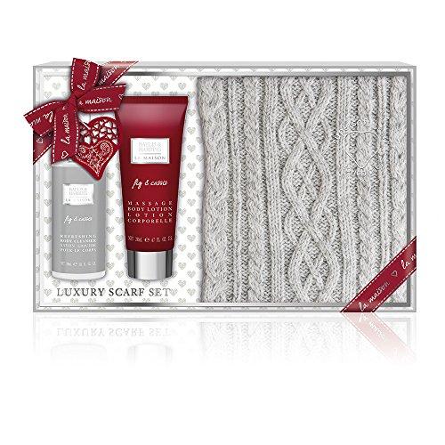 Baylis & Harding La Maison Vijg & Cassis luxe sjaal set cadeauset