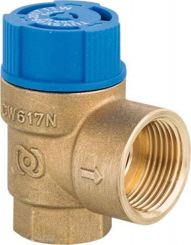 """Membran Sicherheitsventil Trinkwasser Überdruckventil 6-10 bar Varianten Sicherheitsventil Trinkwasser Anschluss 3/4"""" - 8 bar"""