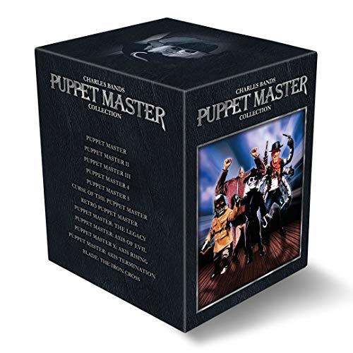 Puppet Master Collection - Limited Deluxe Edition auf 1500 Stück (Alle 11 Filme im hochwertigem Schuber mit 72-seitigem Booklet) [Blu-ray]