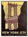 Taco Thursday New York City The Manhattan Bridge Pintura de Hierro Cartel de Metal Vintage Cartel de Chapa Cartel de Pared Placa para hogar Dormitorio Garaje Dormitorio Cafetería