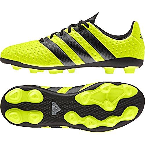 adidas Ace 16.4 FxG, Botas de fútbol Niño, (Solar Yellow/Core Black/Silver Metallic), 37 1/3 EU