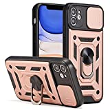 ZCDAYE Case for iPhone 12, Military Grade Dual-Protection