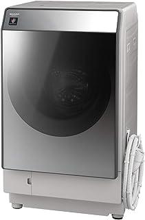 シャープ  SHARP  ドラム式洗濯乾燥機(ハイブリッド乾燥) 右開き(ヒンジ右) 洗濯11kg/乾燥6kg シルバー系 幅640mm  奥行728mm  DDインバーター搭載 ES-W111-SR