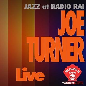 Jazz At Radio Rai: Joe Turner Live (Via Asiago 10)