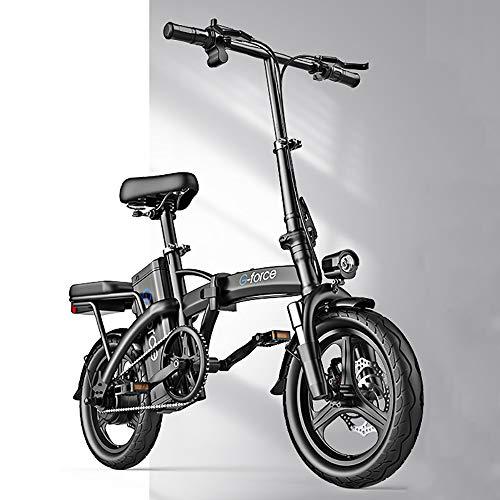 DODOBD 14 Zoll E-Bike Klapprad - E-Faltrad mit Hinterrad Nabenmotor 400W, 48V Pedelec Faltrad für Damen Herren und Jugendliche praktisches Elektro Klapprad
