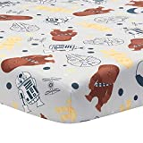 Lambs & Ivy Star Wars Signature Millennium Falcon 100% Cotton Fitted Crib Sheet