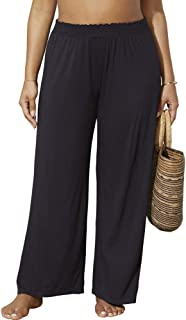 Swimsuits for All Women's Plus Size Dena Beach Pant Cover Up