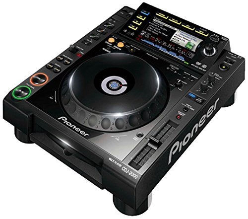 Pioneer CDJ-2000 Professional Multi Player - Reproductores de DVD (115 dB, 0,0018%, 4000 - 20000 Hz, AAC,AIFF,MP3,WAV, 3,5 mm, CD,CD-R,CD-RW)