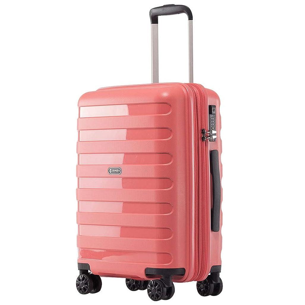 協会使い込む有益kroeus(クロース)PP100%ボディ スーツケース 容量拡張機能 超軽量タイプ TSAロック搭載 ファスナータイプ キャリーケース 日本語取扱説明書 1年間保証付き