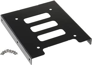 【ノーブランド品】PC用 2.5インチSSD HDD →3.5インチ 金属 マウント アダプター ブラケット ドック ハード ドライブ ホルダー