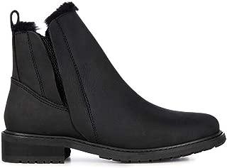 Pioneer Leather Womens Deluxe Wool Waterproof Boots