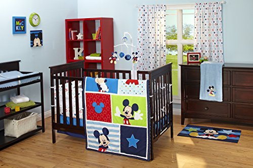Disney Crib Liner, Mickey