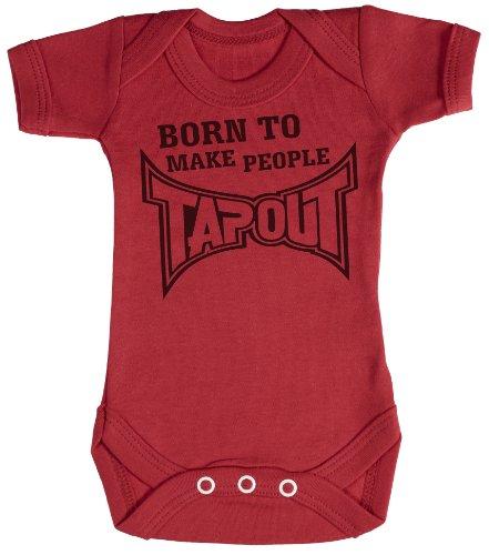 TRS - Born To Make People Tap Out Body bébé - cadeaux de bébé 18-24 Mois Rouge