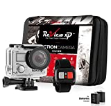 Review XP C200 16MP 4K Action Camera - Waterproof - Wi-Fi - 170 Angle Lens - Ultra HD Sports DV Digital Camcorder + 2.4g Wrist Remote Control + Bundle of 20+ Mounting Kits + Shockproof Carrying Case