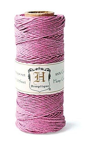Hemptique HS20CO - LTPNK - Cordel para jardinería, color rosa