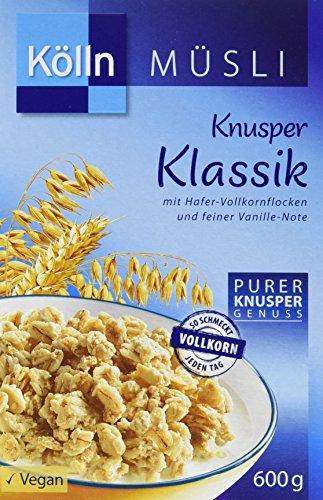 Kölln Müsli Knusper Klassik, 6er Pack (6 x 600 g)