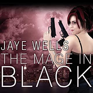 The Mage in Black audiobook cover art