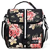 VLM Lunch Bag for Women,Water/Leakproof Insulated Lunch Box with Adjustable...