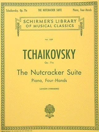 NUSSKNACKER SUITE OP 71A - arrangiert für Klavier 4händig [Noten / Sheetmusic] Komponist: TSCHAIKOWSKY PJOTR ILJITSCH