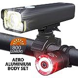 Bike Headlight and 2 LED Rear Bike Tail Lights...