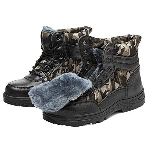 Zapatos de Trabajo de Seguridad Para Hombres, Zapatos de Punta de Acero Ligeros Y Transpirables, Botas de Trabajo Protectoras Compuestas, Zapatos Cómodos de Construcción Industrial Antideslizantes