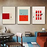 pktmbttoveuhgf Figura nórdica Colorida Pared Arte Personaje acción Lienzo Pintura Impresiones Hombre y Mujer Imagen Moderna para Sala de Estar decoración del hogar