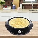Pancake Maker, Machine à crêpes, fabricant de crêpes domestiques, diamètre 30 cm, avec régulateur de température réglable, antiadhésif et portable, facile à nettoyer