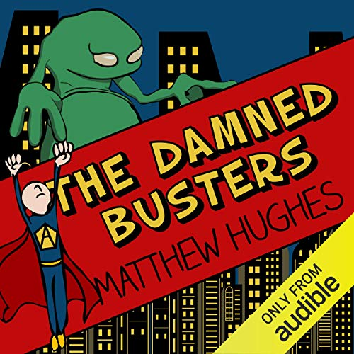 The Damned Busters audiobook cover art