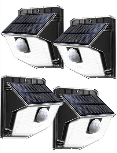 LITOM Wireless Security Wall Outdoor Solar Lights