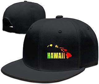 JDK ERZI Hawaiian Islands Truck Hat Adjustable Baseball Caps Dad Hat Flat Cap