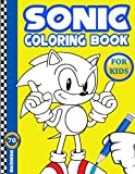 Sonic Coloring Book: Sonic the Hedgehog Jumbo Coloring Book for Kids of All Ages, 70+ High Quality and Exclusive Illustrations for Sonic and Friends Fans (Unofficial)