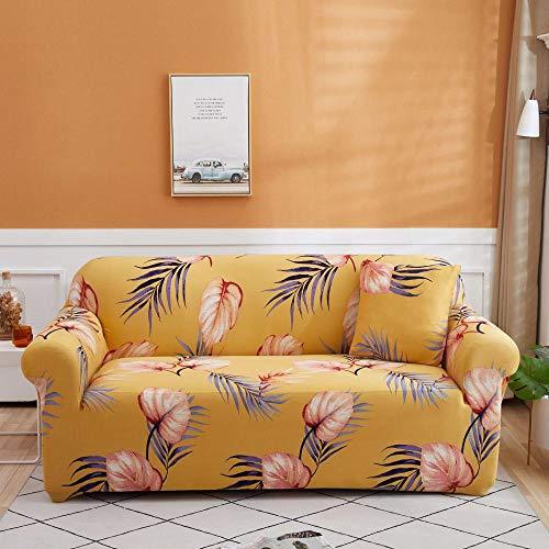 Antideslizante Protector Cubre Sofa Fundas de sofá de Esquina de 4 plazas Fundas de sofá universales para Sala de Estar, Funda de sofá elástica Funda de sofá de Esquina de Toalla 235-300cm P