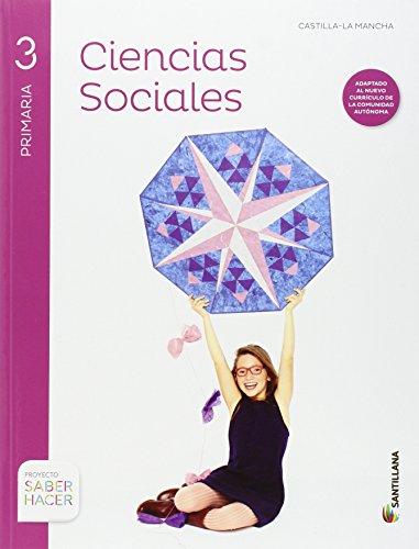 CIENCIAS SOCIALES + ATLAS 3 PRIMARIA CASTILLA LA MANCHA - 9788468031842