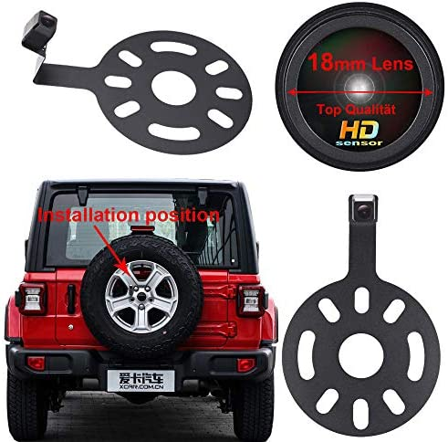 Super HD Vehicle Camera 1280x720 Pixels 1000 TV Lines car Rear View Back up Camera Parking Reverse product image
