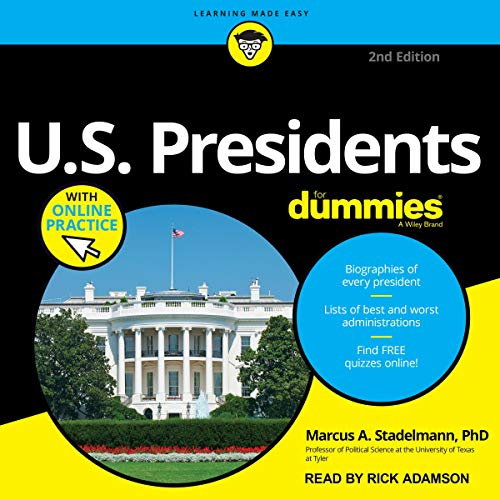 U.S. Presidents for Dummies (2nd Edition) cover art