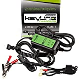 KeyLine Chargers KC-75A-MP 12V 0.75 Amp Automatic Mini Pro Car Battery...