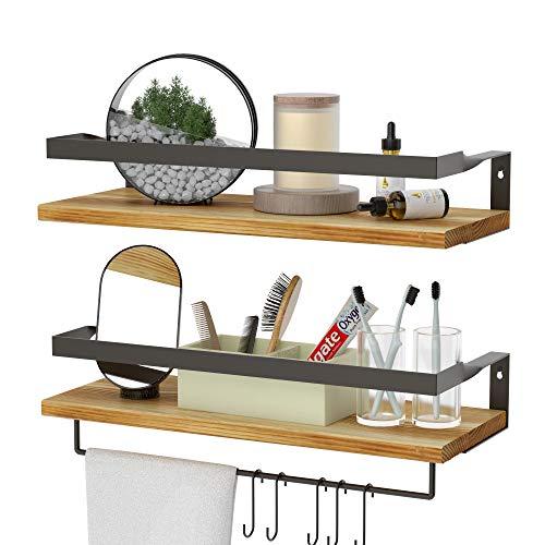 (20% OFF) Floating Shelves W/ Towel Bar $19.19 – Coupon Code