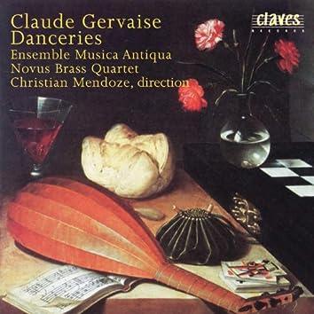 Claude Gervaise : Danceries (A quatre parties)
