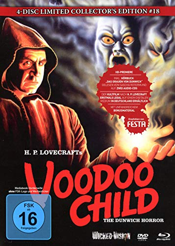 Voodoo Child (The Dunwich Horror) - 4-Disc Limited Collector's Edition Nr.18 (Blu-ray + DVD + 2 Audio CDs) - Limitiertes Mediabook auf 222 Stück, Cover B