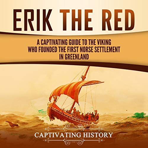 Erik the Red audiobook cover art